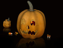 Pumpkin halloween. Stock Images