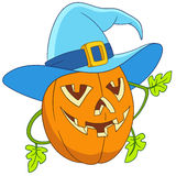 Pumpkin on halloween Stock Image