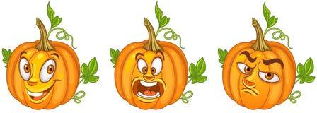 Pumpkin. Halloween holiday symbol royalty free stock image