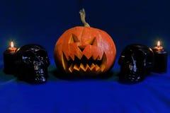 Pumpkin on Halloween. The pumpkin on Halloween, horror Stock Photography