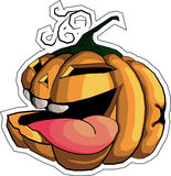 Pumpkin. This is a halloween illustration of pumpkin Stock Photo