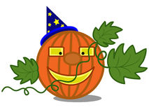 Pumpkin , Halloween. Royalty Free Stock Photos