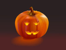 Pumpkin halloween Jack O'Lantern Royalty Free Stock Photo