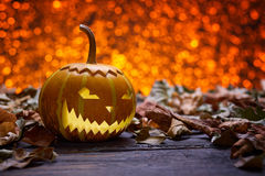 Pumpkin for Halloween Stock Photos