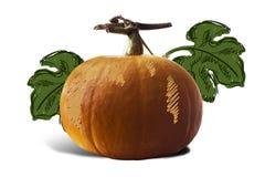 Pumpkin For Halloween Painted children Stock Image