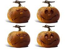 Pumpkin For Halloween Painted children Royalty Free Stock Images