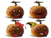 Pumpkin For Halloween Painted children Stock Photos