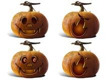 Pumpkin For Halloween Painted children Stock Photo