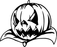 Pumpkin - Halloween Set - vector illustration Stock Photo