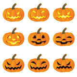 Pumpkin halloween Royalty Free Stock Images