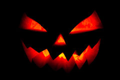 Pumpkin halloween smile Stock Images