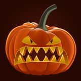 Pumpkin for Halloween Royalty Free Stock Photos