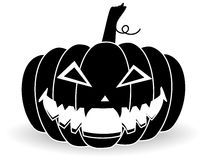 Pumpkin. Halloween pumpkin on a white background Royalty Free Stock Images