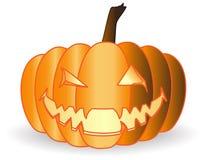 Pumpkin. Halloween pumpkin on a white background Stock Image