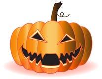 Pumpkin. Halloween pumpkin on a white background Royalty Free Stock Photo