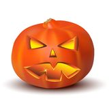 Pumpkin for hallowen in vector Royalty Free Stock Photography