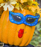 Pumpkin head Stock Image