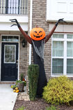 Pumpkin-head blow up doll Stock Photos