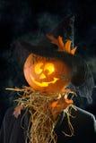 Pumpkin Head Stock Photo