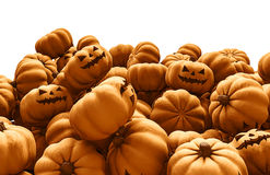 Pumpkin heap Stock Image