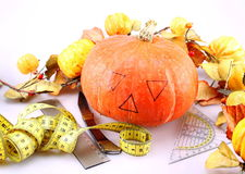 Pumpkin for Helloween Royalty Free Stock Photo