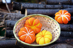 Pumpkin homemade Royalty Free Stock Images