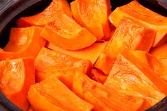 Pumpkin with honey Stock Photo