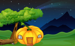 Pumpkin house Royalty Free Stock Photos