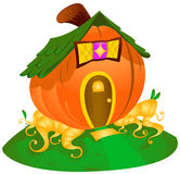 Pumpkin House Royalty Free Stock Image