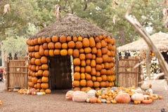 Pumpkin Hut Stock Photo