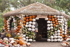 Pumpkin Hut Royalty Free Stock Photos
