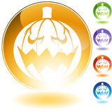 Pumpkin Icon Royalty Free Stock Photography