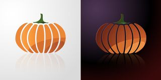Pumpkin Icon Stock Photo