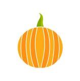 Pumpkin icon. Vector illustration Royalty Free Stock Photo