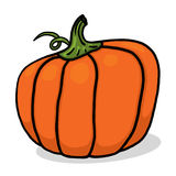 Pumpkin illustration for Halloween Stock Image