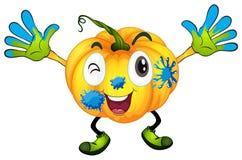 A pumpkin Royalty Free Stock Image