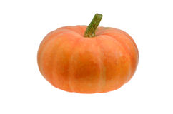Pumpkin  isolated on white Stock Photography