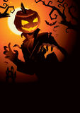 Pumpkin Jack. Is looking for somebody Royalty Free Stock Image