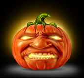 Pumpkin Jack O Lantern Stock Photography