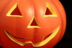 Pumpkin jack-o-lantern Stock Photos