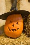 Pumpkin Jack O' Lantern Royalty Free Stock Photo
