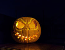 Pumpkin Jack Skellington Stock Photos