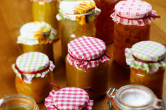 Pumpkin jam Stock Images