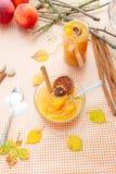 Pumpkin jam Stock Photos