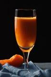 Pumpkin juice closeup Royalty Free Stock Photos