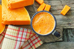 Pumpkin juice Royalty Free Stock Photography