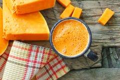 Pumpkin juice Royalty Free Stock Photography