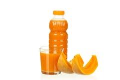 Pumpkin juice Stock Images