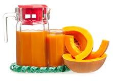 Pumpkin juice Stock Photography