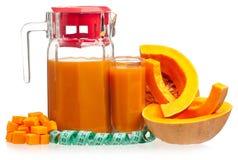 Pumpkin juice Royalty Free Stock Photos